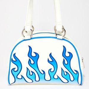 sick blue flame bag